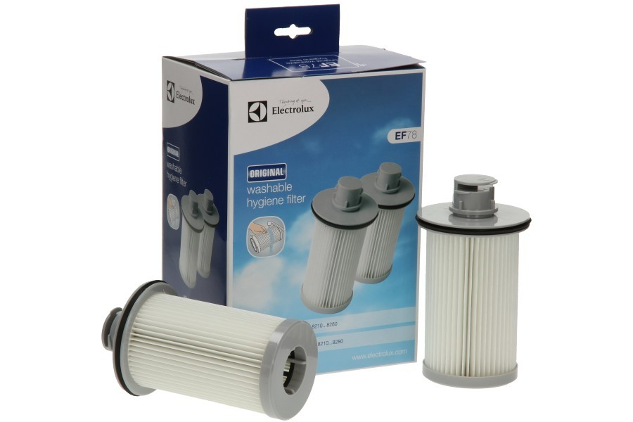Kit filtri Electrolux twin clean 2pz. originali