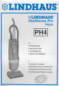 Sacchetti carta Lindhaus originali PH4 RX evolution